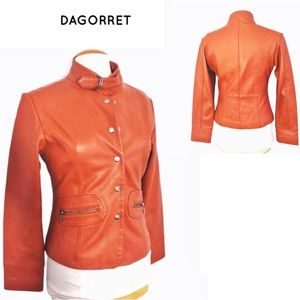Dagorret Soft Leather Jacket Sz S
